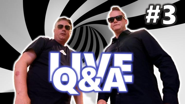 AGS LIVE Q&A - Episode 3