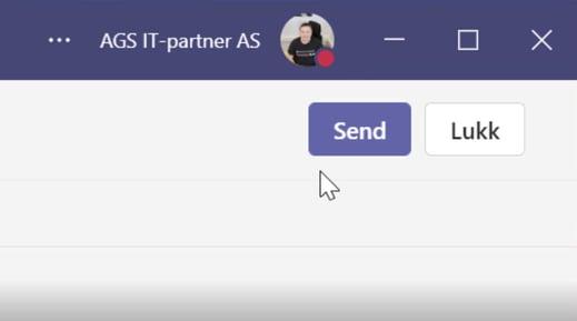 Automatisk opptak av møter i Microsoft Teams 3