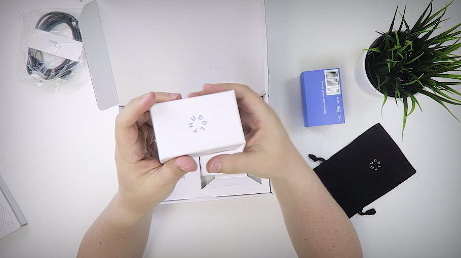 Unboxing og test - Huddley GO møteromskamera 1