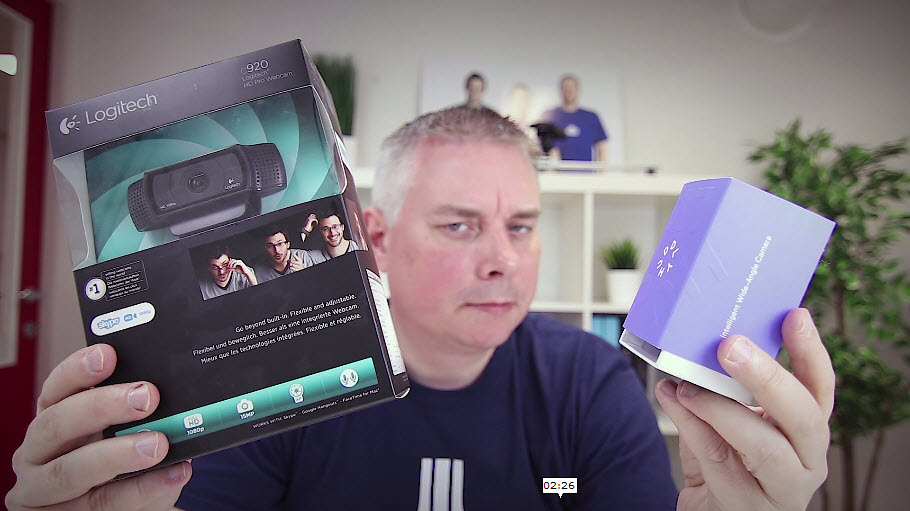 Unboxing og test - Huddley GO møteromskamera 4