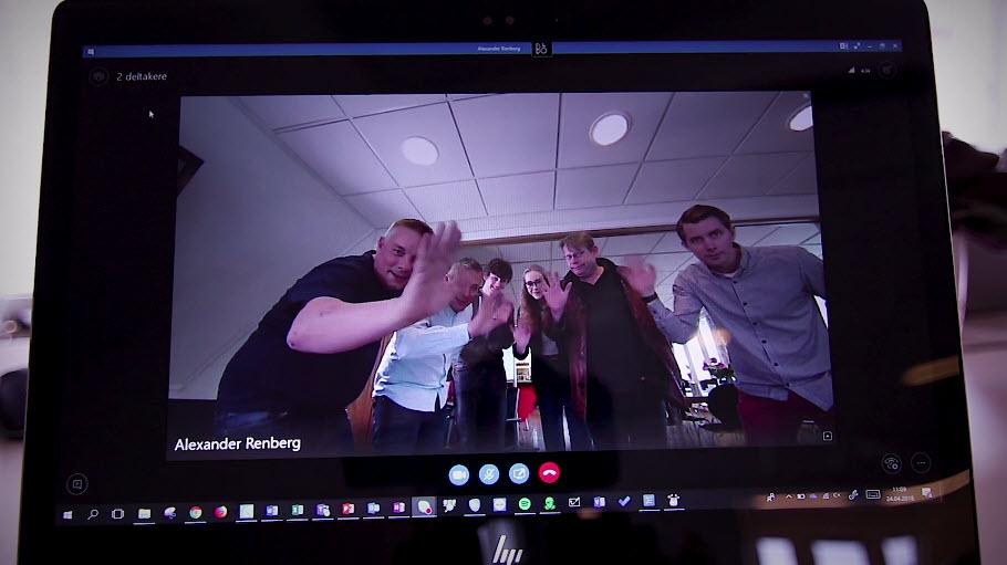 Unboxing og test - Huddley GO møteromskamera 9
