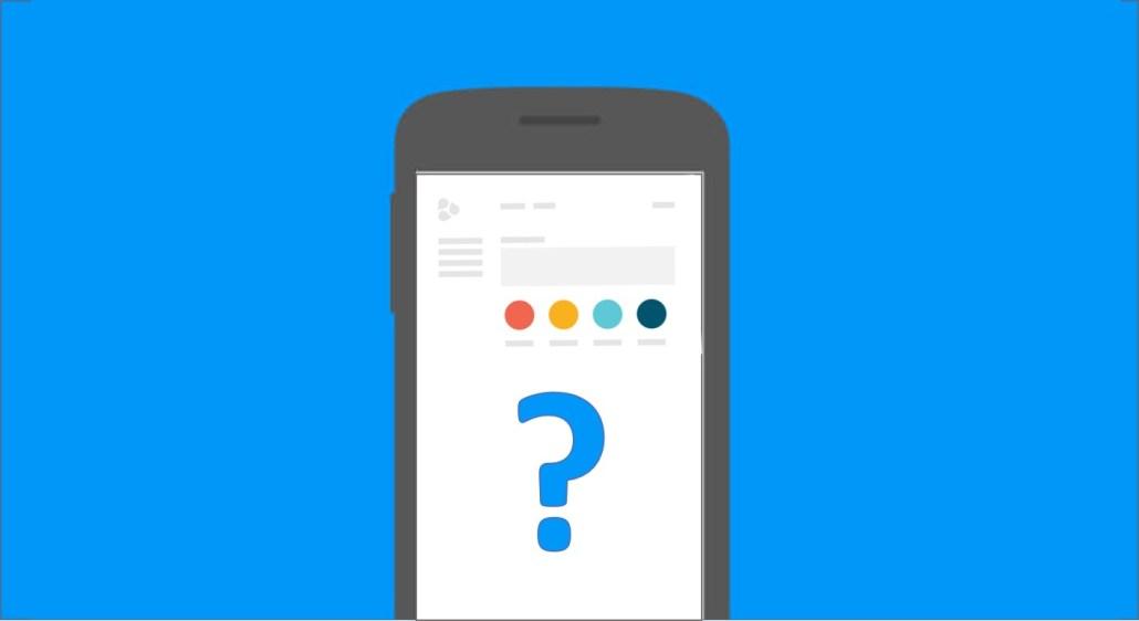 Google-mobilvennlig-nettside