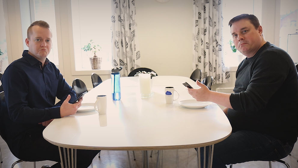 Hvordan booke et Microsoft Teams møte med mobilen 2