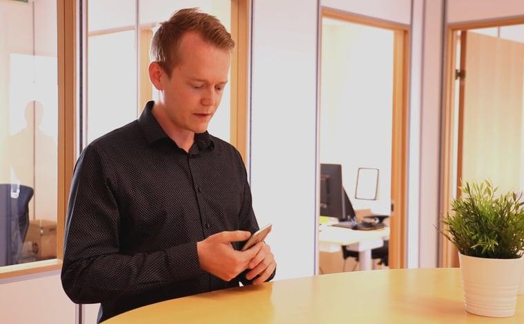 Hvordan booke et Microsoft Teams møte med mobilen blogg