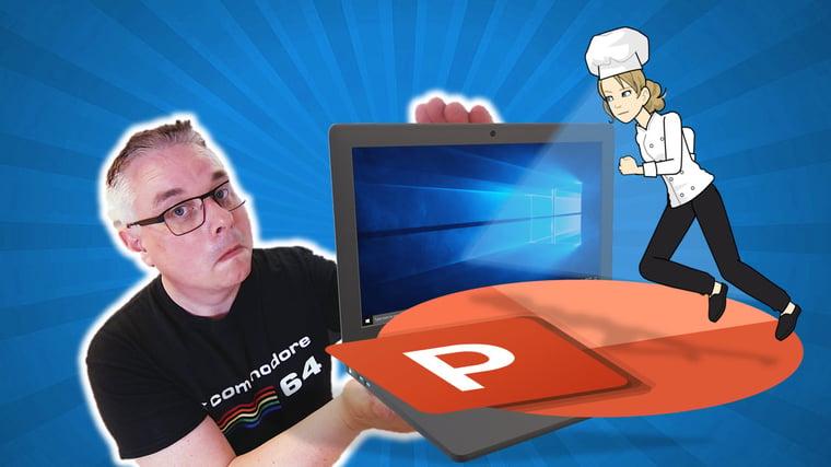 Hvordan lage Powerpoint presentasjon med Pixton comic characters 0