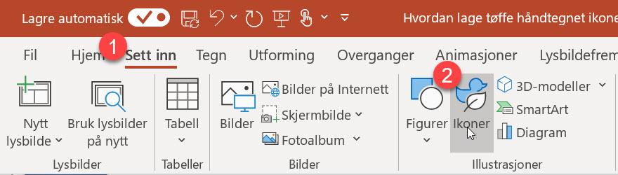 Hvordan lage tøffe håndtegnet ikoner i PowerPoint 1