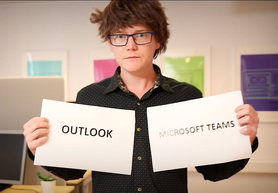 Hvordan tagge andre i en Outlook e-post 1