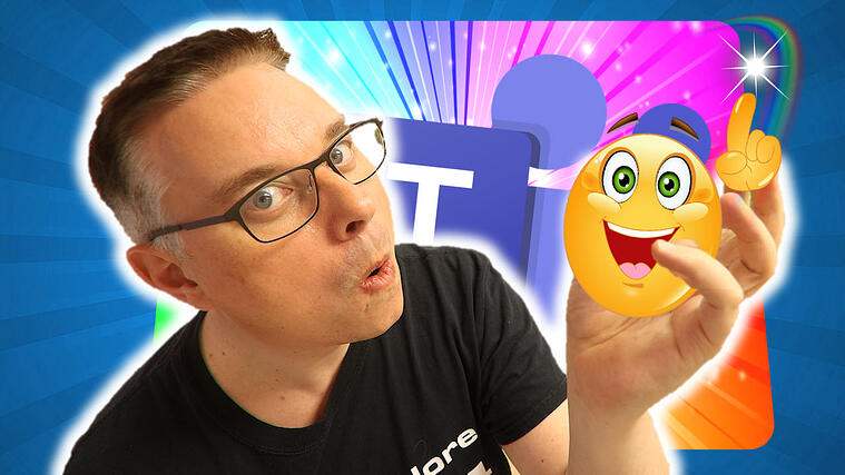 Nyhet! - Over 800 Emojis i Microsoft Teams 0