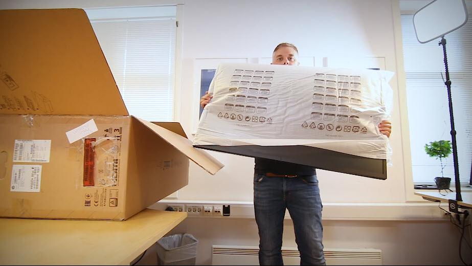 Unboxing HP Z43 42,5-tommers 4K UHD-skjerm bilde 0