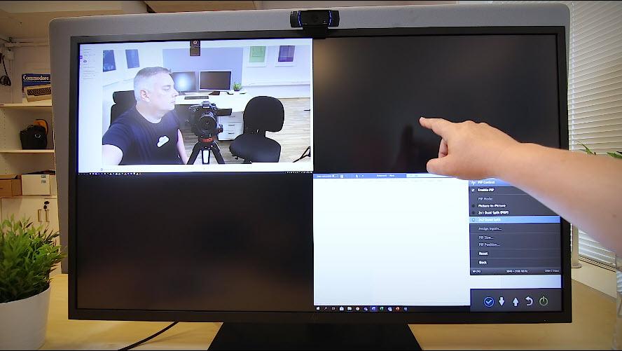 Unboxing HP Z43 42,5-tommers 4K UHD-skjerm bilde 15