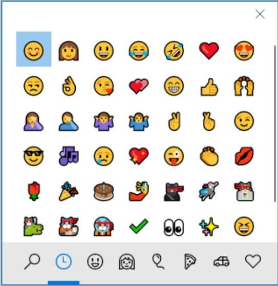 Enkel Snarevei til Emoji på Windows 10 1