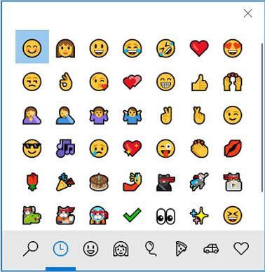 Enkel Snarevei til Emoji på Windows 10 1