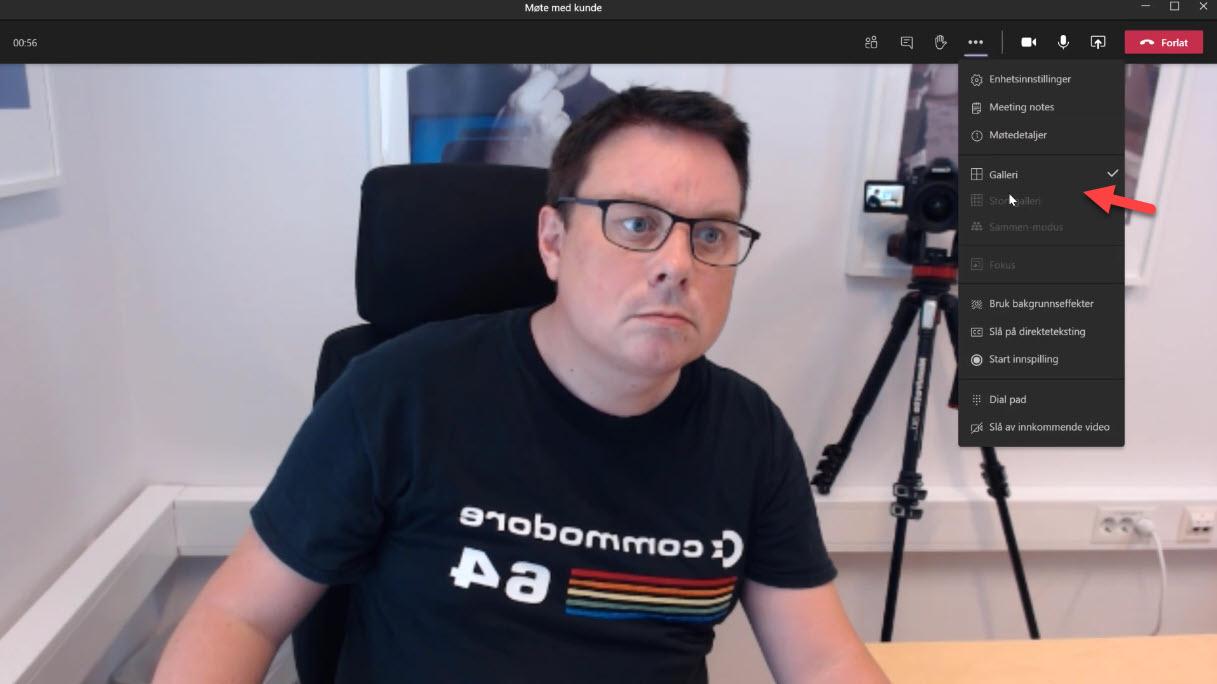 Hvordan aktiverer Ny Moteopplevelse i Microsoft Teams 7