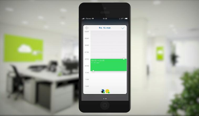 Hvordan booke et Microsoft Teams møte med mobilen 7