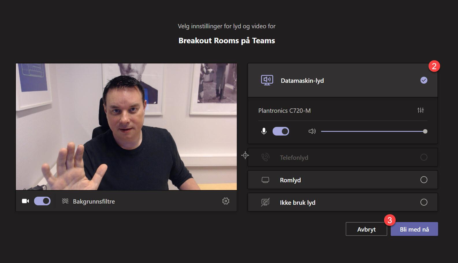 Hvordan bruke BREAKOUT ROOMS i Microsoft Teams 2