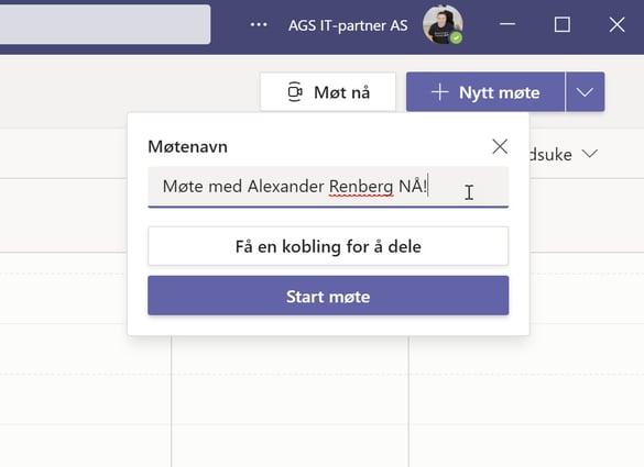 Hvordan bruke Meet Now i Outlook og Microsoft Teams 11