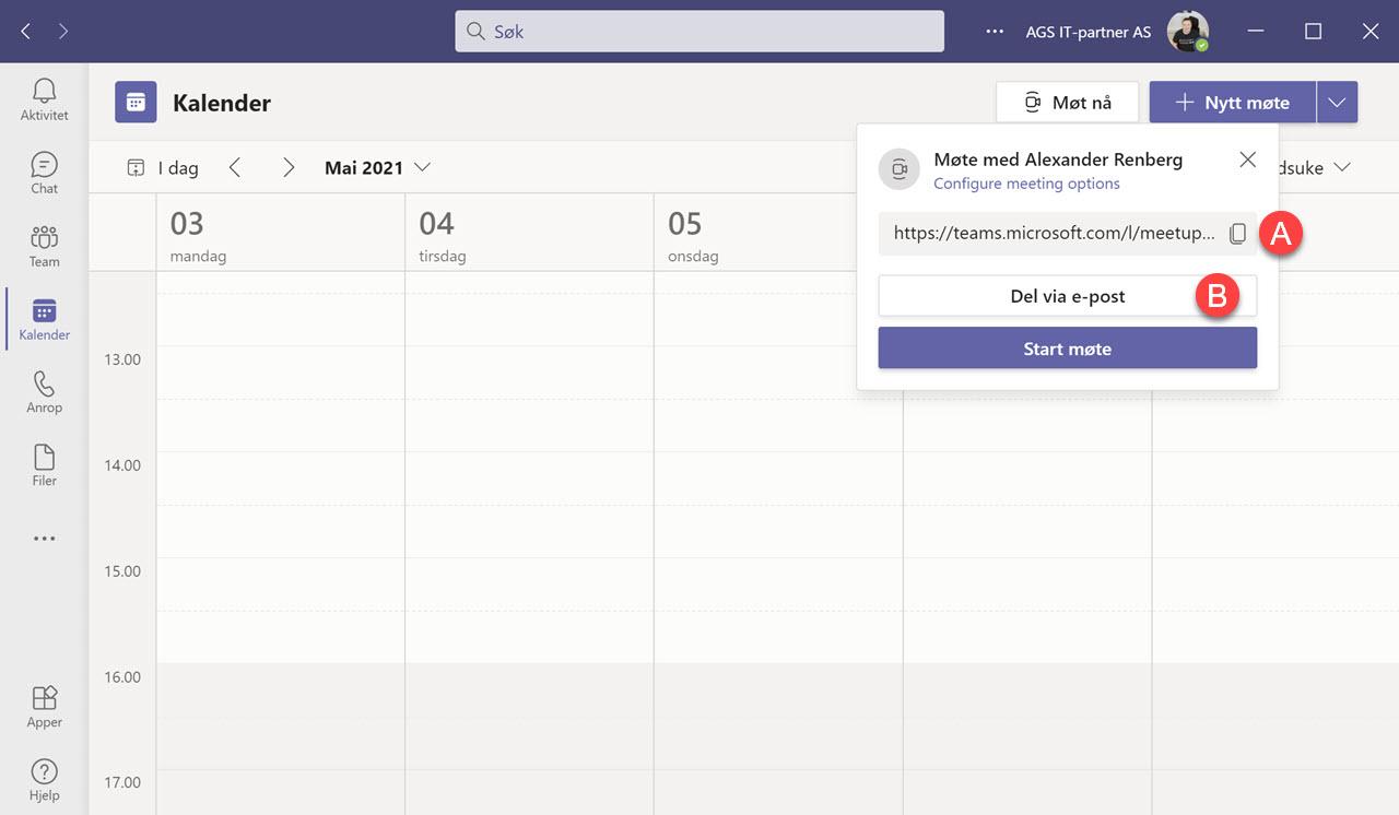 Hvordan bruke Meet Now i Outlook og Microsoft Teams 12