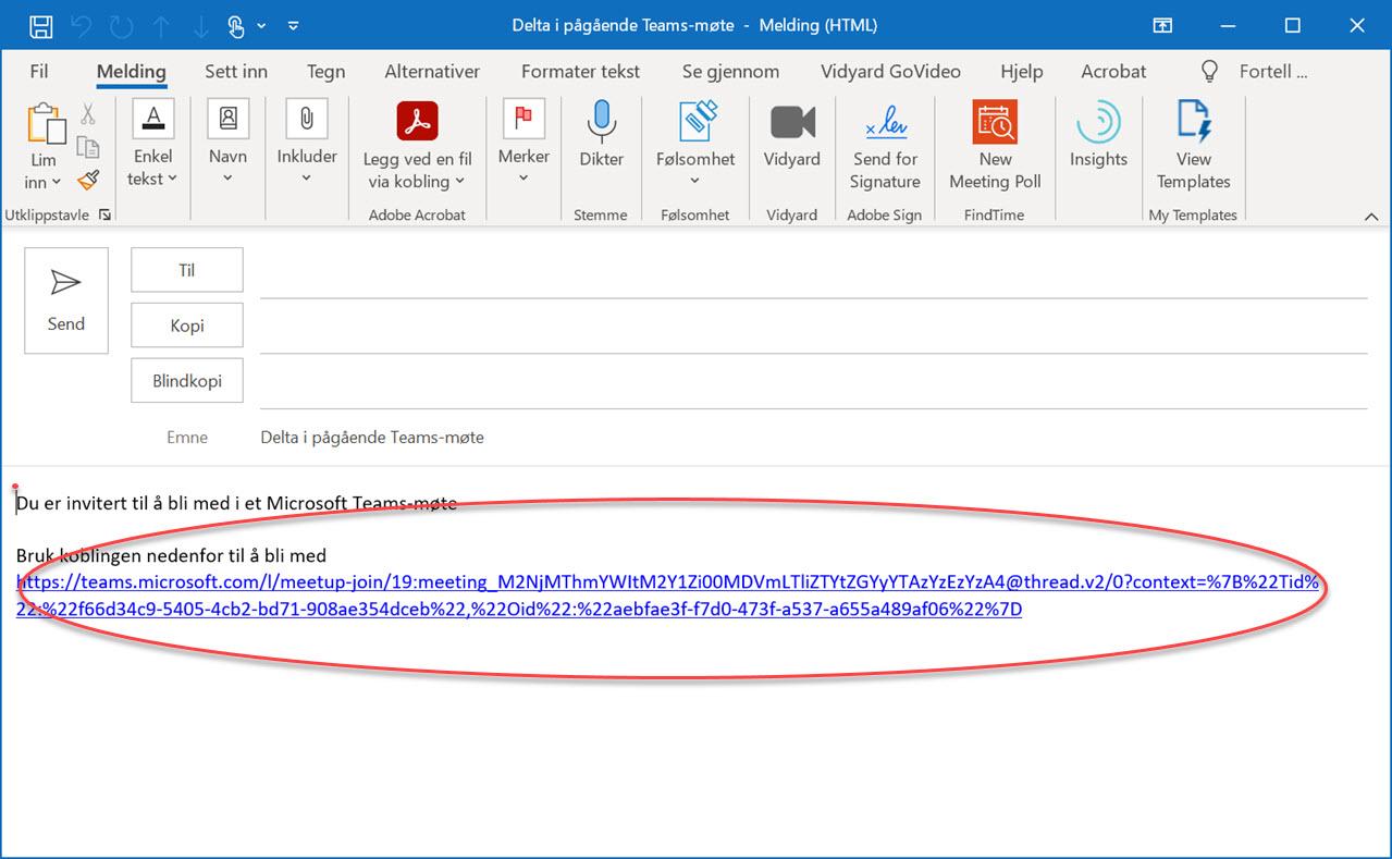 Hvordan bruke Meet Now i Outlook og Microsoft Teams 6