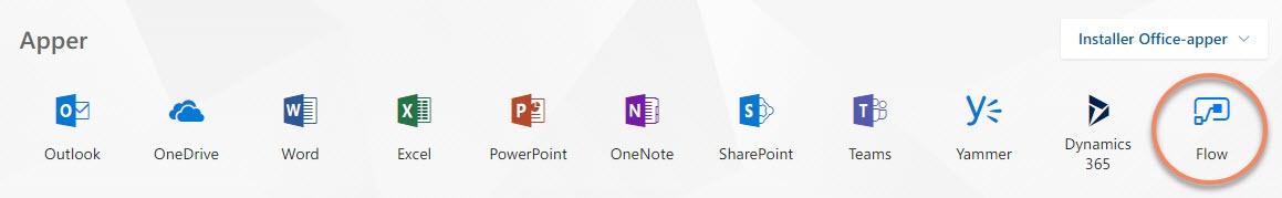 Hvordan bruke Microsoft Flow 1