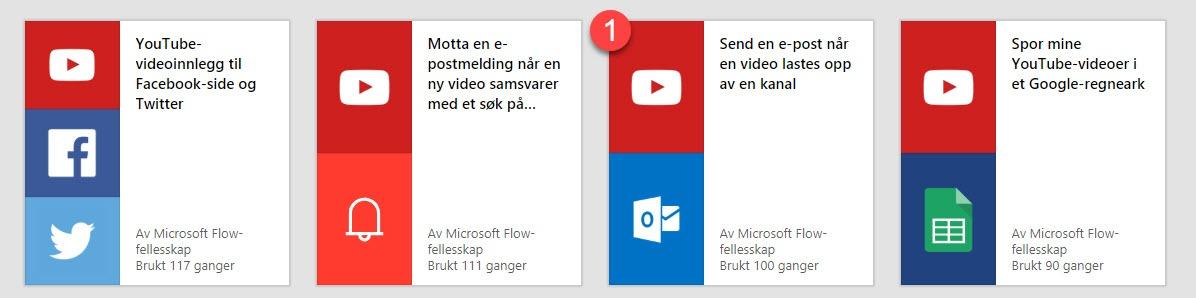 Hvordan bruke Microsoft Flow 3