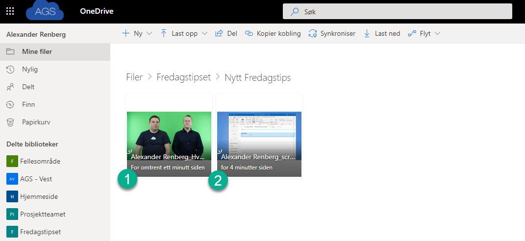 Hvordan bruke Request Files funksjonen i OneDrive for Business 11