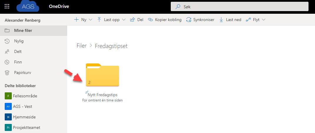 Hvordan bruke Request Files funksjonen i OneDrive for Business 12