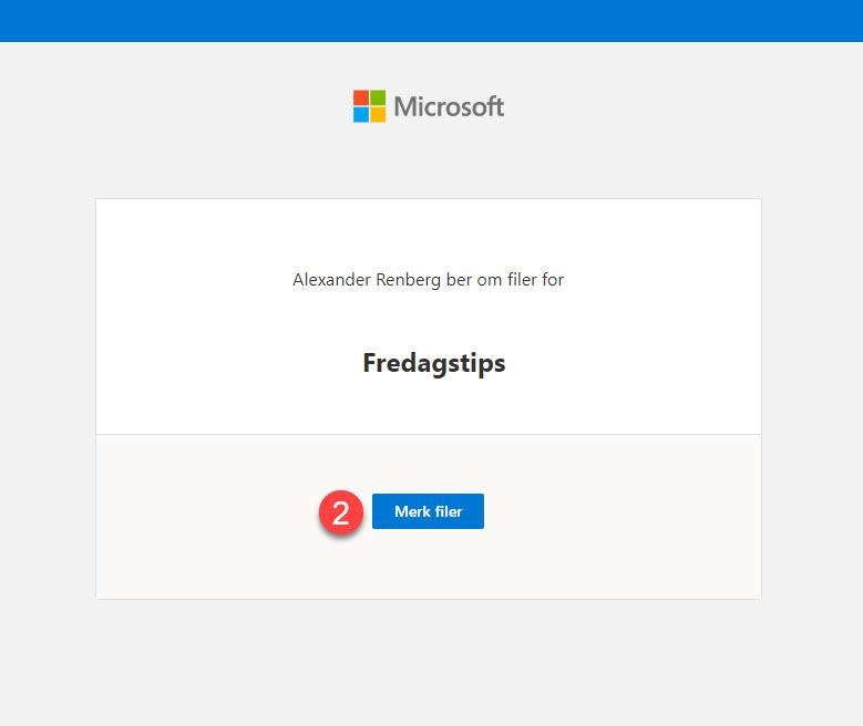 Hvordan bruke Request Files funksjonen i OneDrive for Business 9