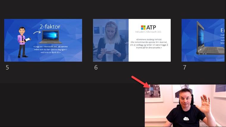 Hvordan bruke presenter View i Microsoft Teams 4