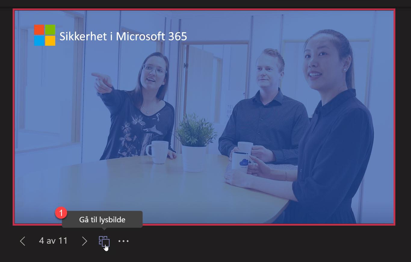 Hvordan bruke presenter View i Microsoft Teams 7