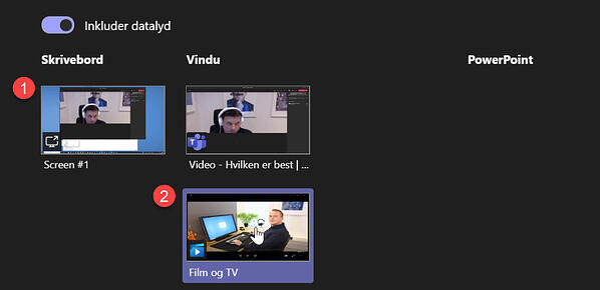 Hvordan dele en video i Microsoft Teams møter - Hvilken metode er best 6