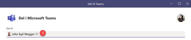Hvordan dele epost til Teams fra Outlook 4