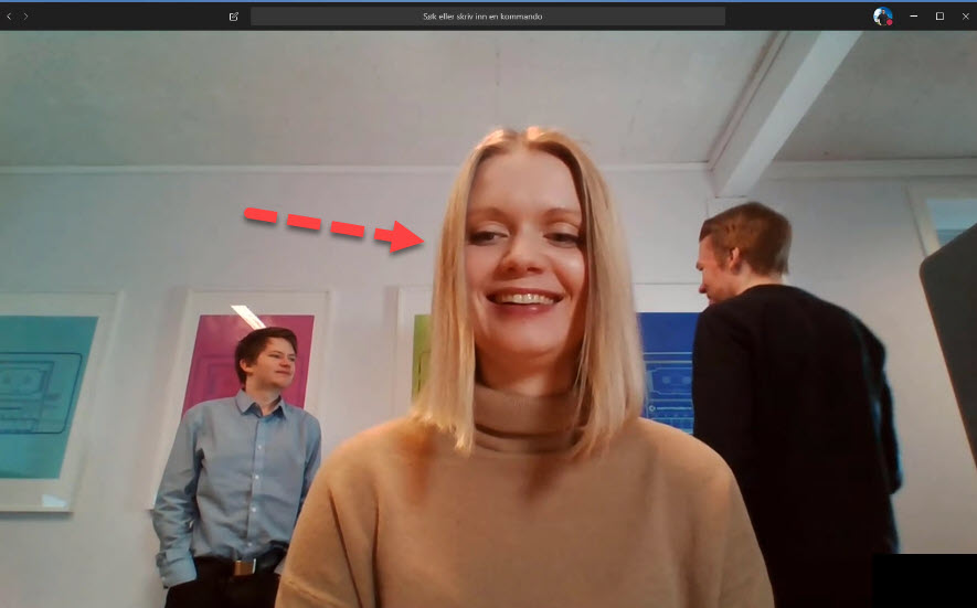 Hvordan gjøre bakgrunnen uskarp i Microsoft Teams møter 3