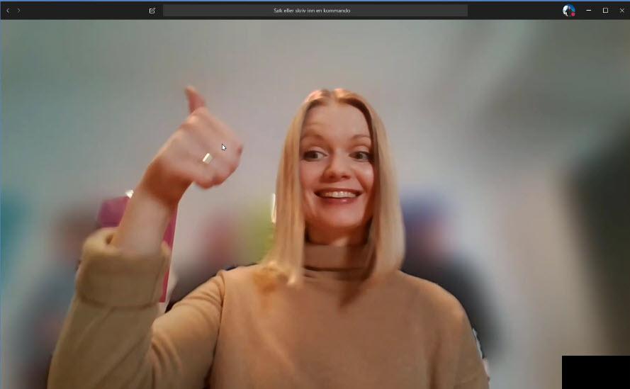 Hvordan gjøre bakgrunnen uskarp i Microsoft Teams møter 4