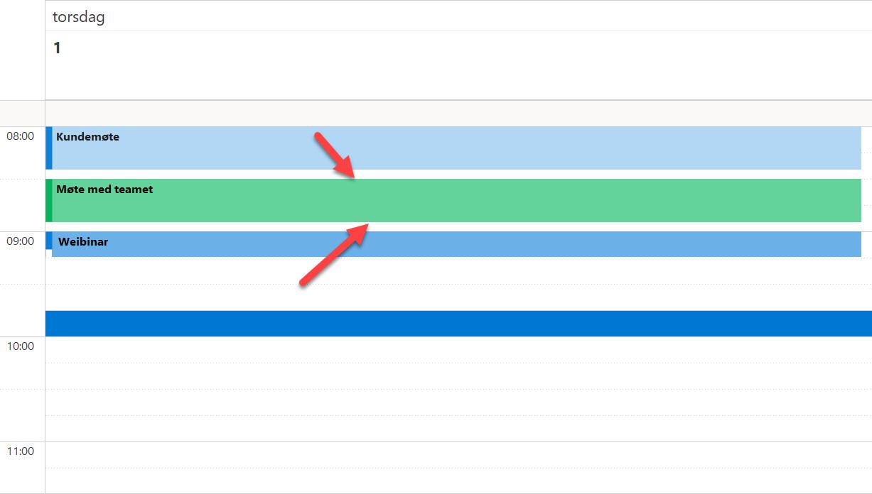 Hvordan lage automatisk pause mellom møter i Outlook. 8