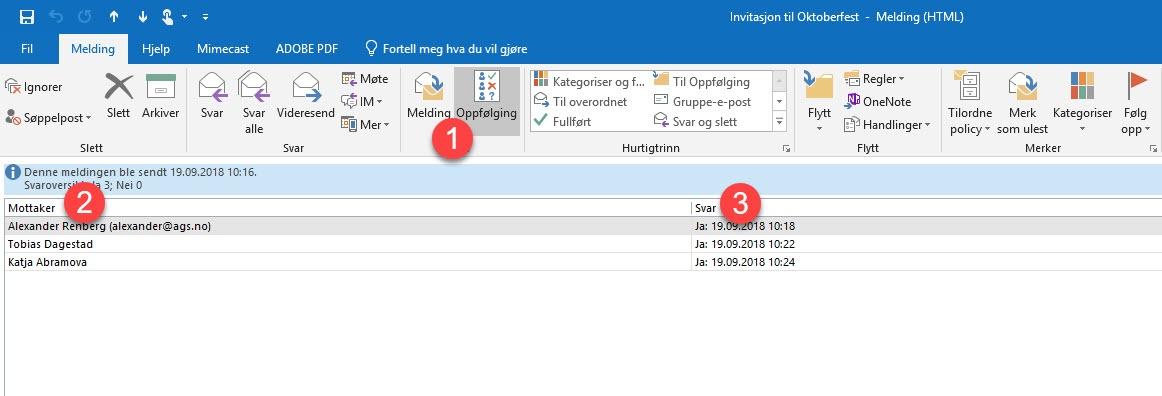 Hvordan lage avspørringer i Outlook 3