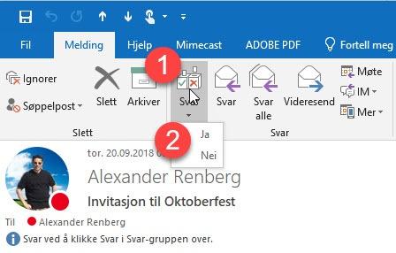 Hvordan lage avspørringer i Outlook 6