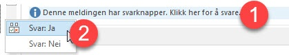 Hvordan lage avspørringer i Outlook 7