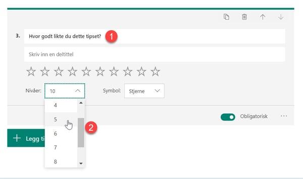 Hvordan lage spørreundersøkelse med Forms for Excel 13