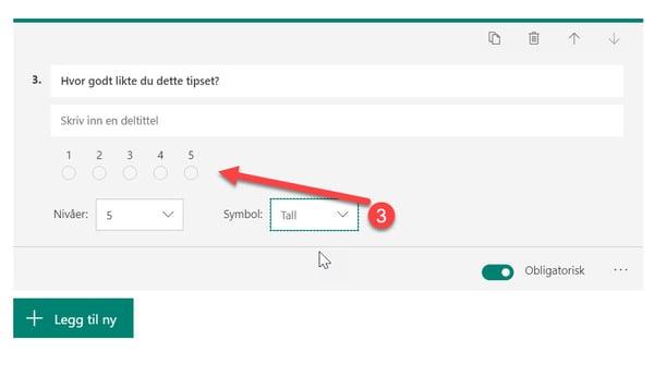 Hvordan lage spørreundersøkelse med Forms for Excel 14