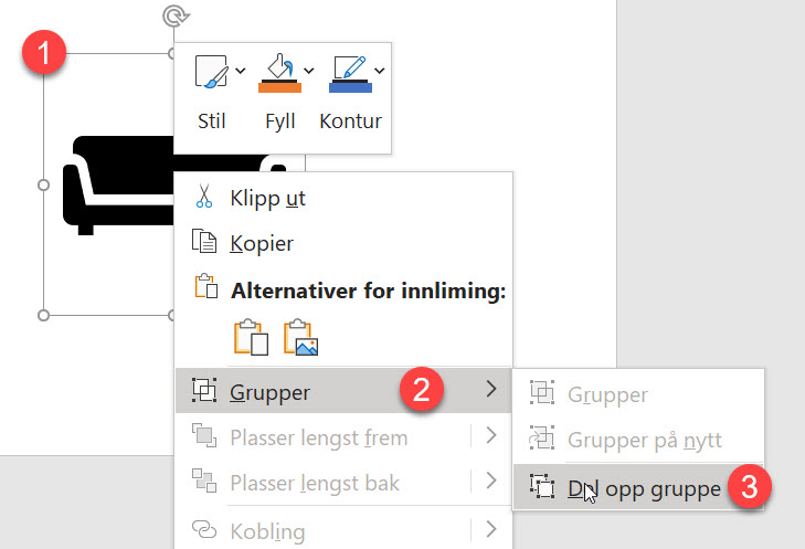 Hvordan lage tøffe håndtegnet ikoner i PowerPoint 5