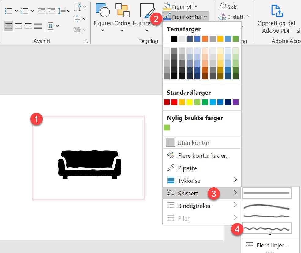 Hvordan lage tøffe håndtegnet ikoner i PowerPoint 6