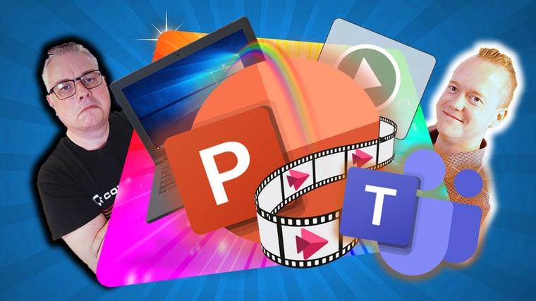 Hvordan lage video av en Powerpoint presentasjon på Microsoft Stream