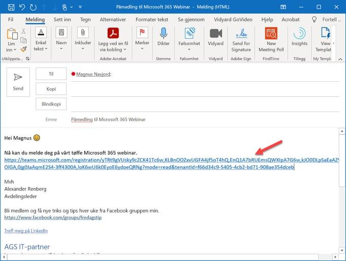Hvordan lage webinar i Microsoft Teams 19
