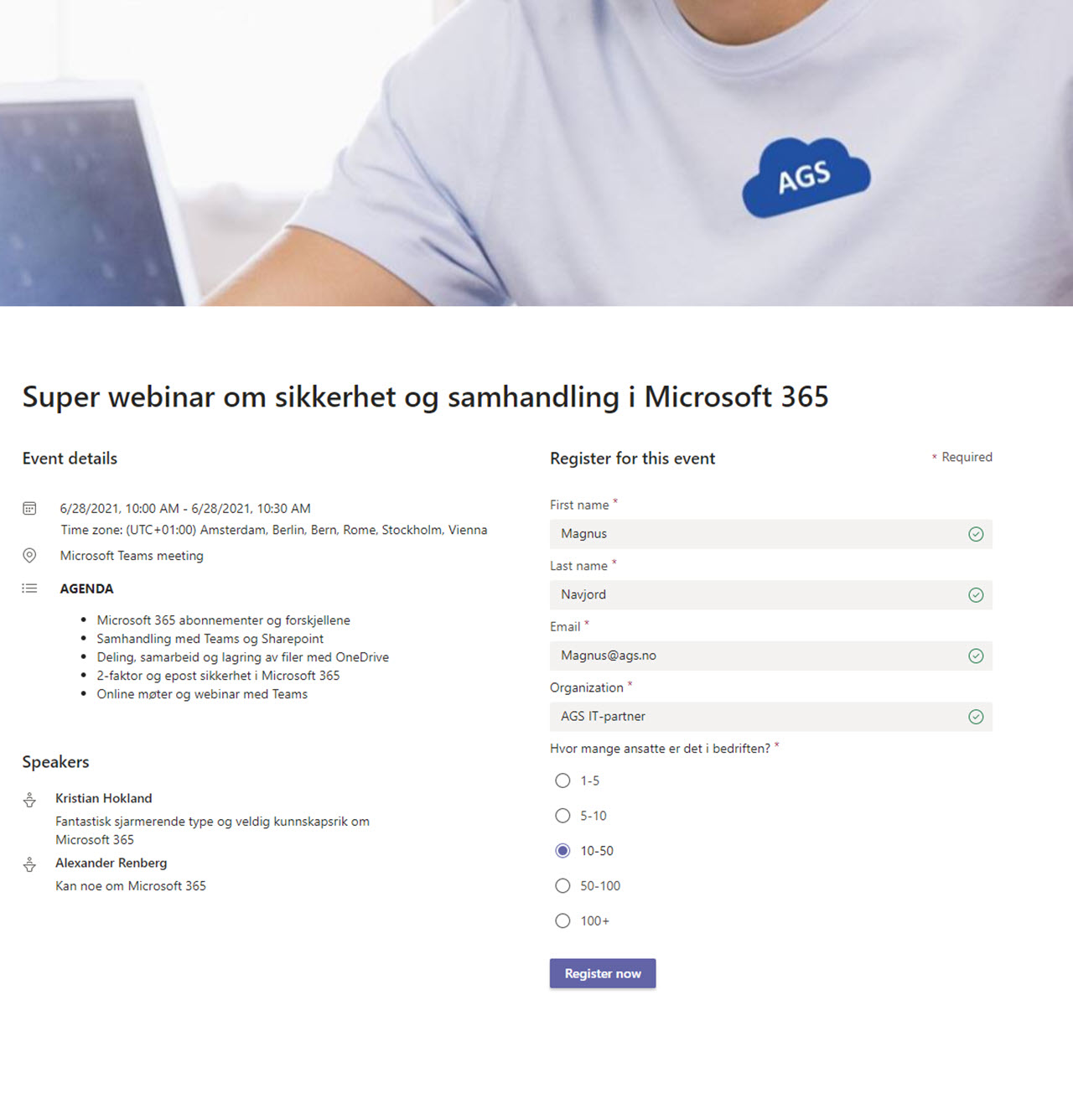 Hvordan lage webinar i Microsoft Teams 20