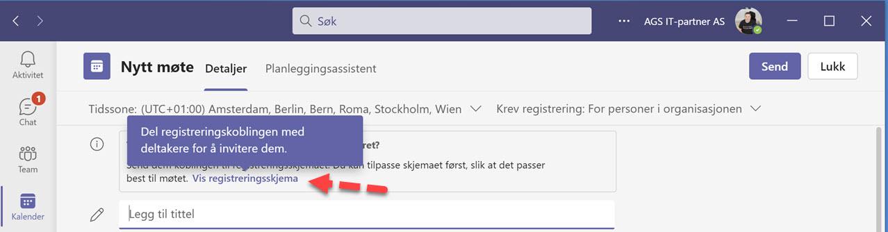 Hvordan lage webinar i Microsoft Teams 3