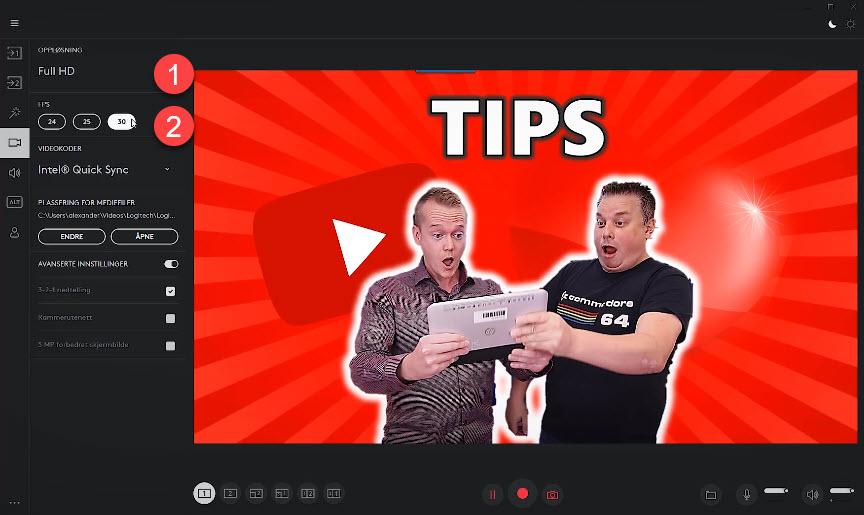 Hvordan lage webinar-løsning og streame med Logitech Capture GRATIS 11