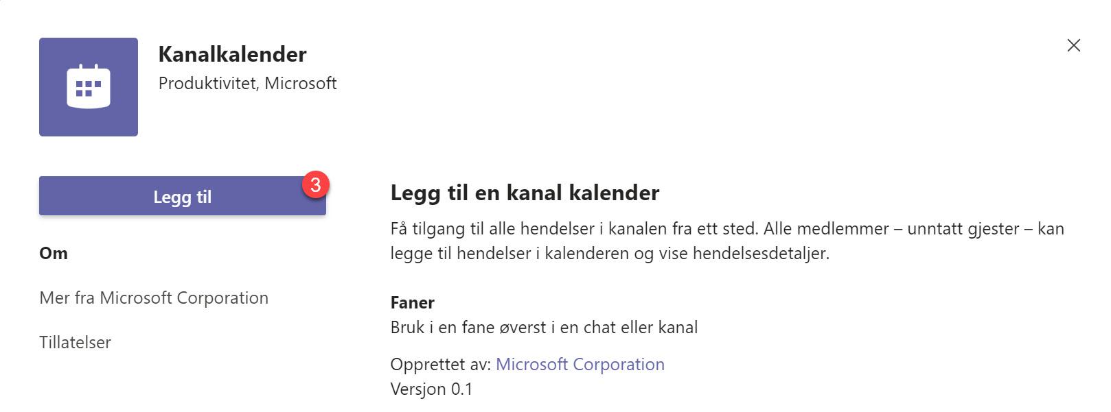 Hvordan legge til kanalkalender i Microsoft Teams 3