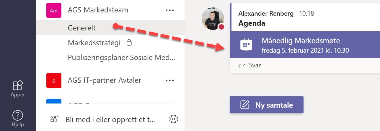 Hvordan legge til kanalkalender i Microsoft Teams 8