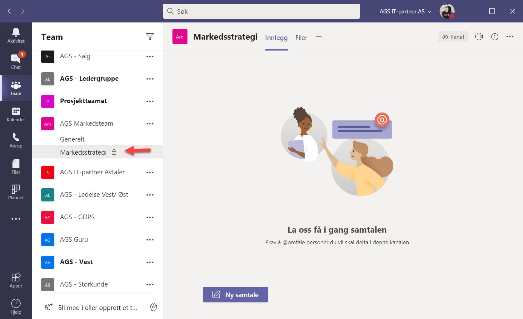 Hvordan opprette private kanaler i Microsoft Teams 5