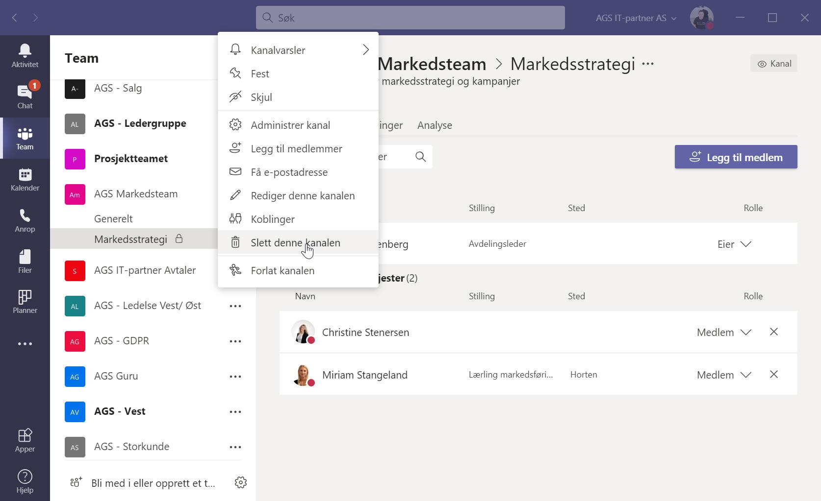 Hvordan opprette private kanaler i Microsoft Teams 6